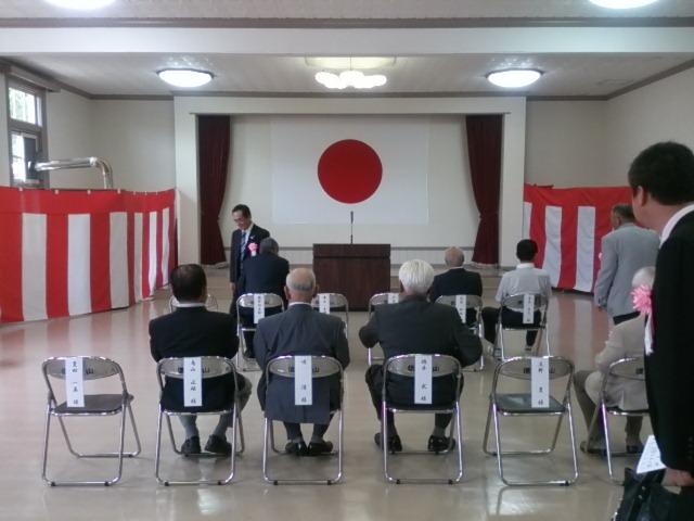 信太山自衛隊協力会の総会 今日は信太山自衛隊協力会の支部長役員総会に、田尻支部長と一緒に行って来