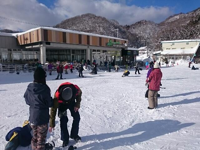 奥伊吹スキー場: エコッペ君の足跡