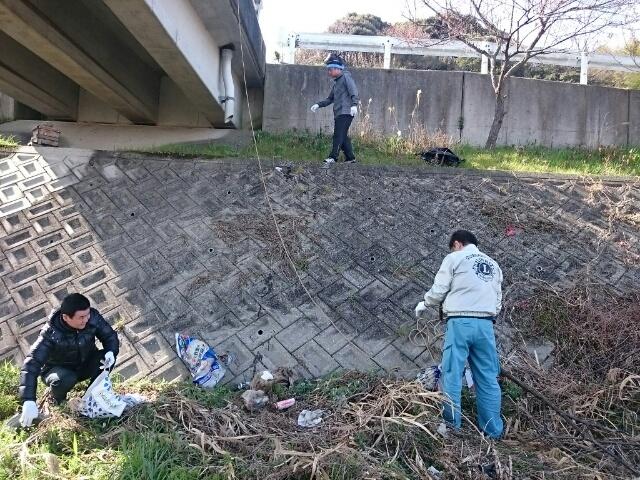 川掃除は例会扱い